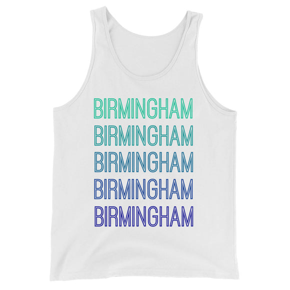Birmingham Blue Ombre Tank - The Well Dressed Southern Mess