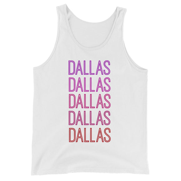 Dallas Pink Ombre Tank - The Well Dressed Southern Mess