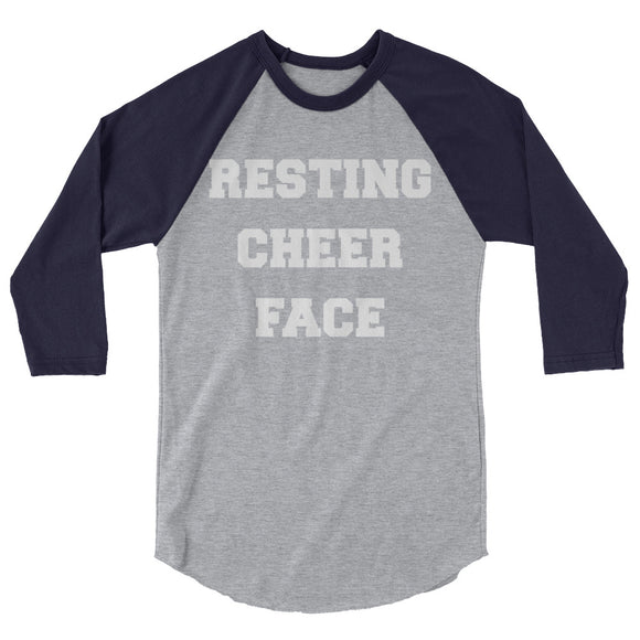 Resting Cheer Face Raglan