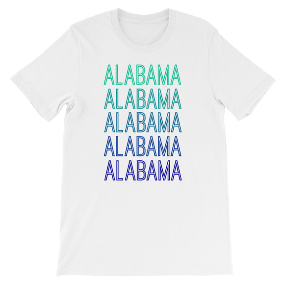 Alabama Blue Ombre - The Well Dressed Southern Mess