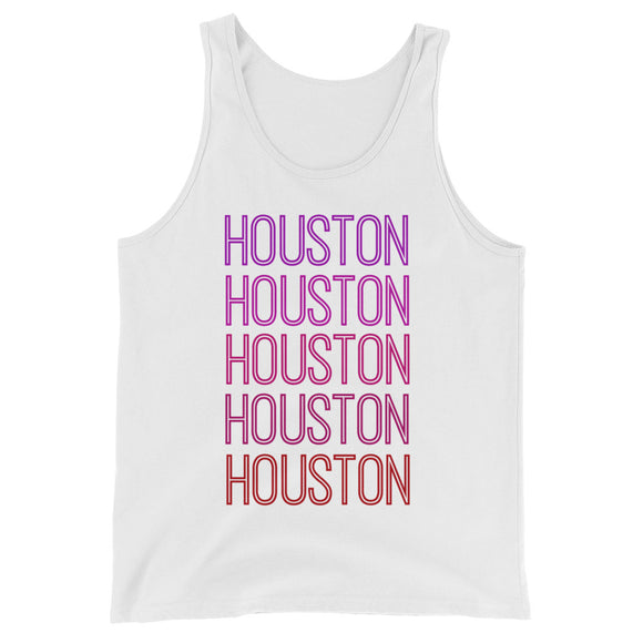 Houston Pink Ombre Tank - The Well Dressed Southern Mess