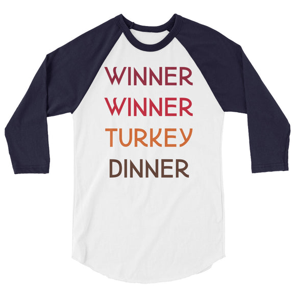 Winner Winner Colorful Raglan