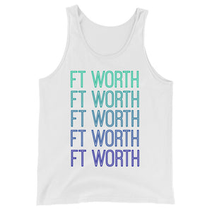 Ft Worth Blue Ombre Tank - The Well Dressed Southern Mess