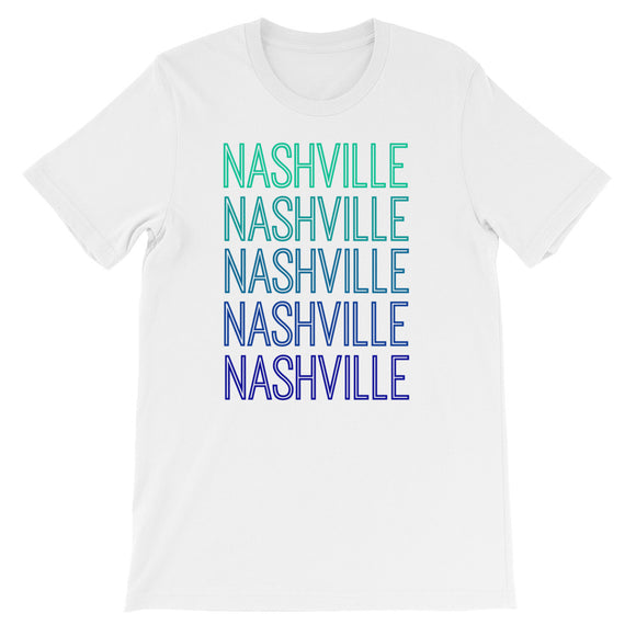 Nashville Blue Ombre - The Well Dressed Southern Mess
