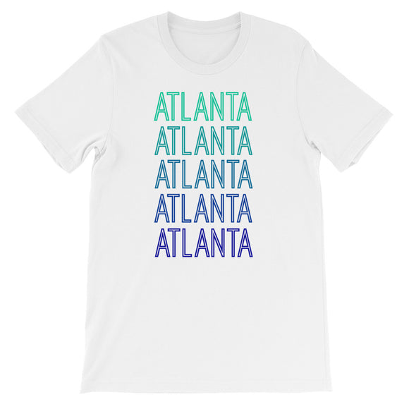 Atlanta Blue Ombre - The Well Dressed Southern Mess