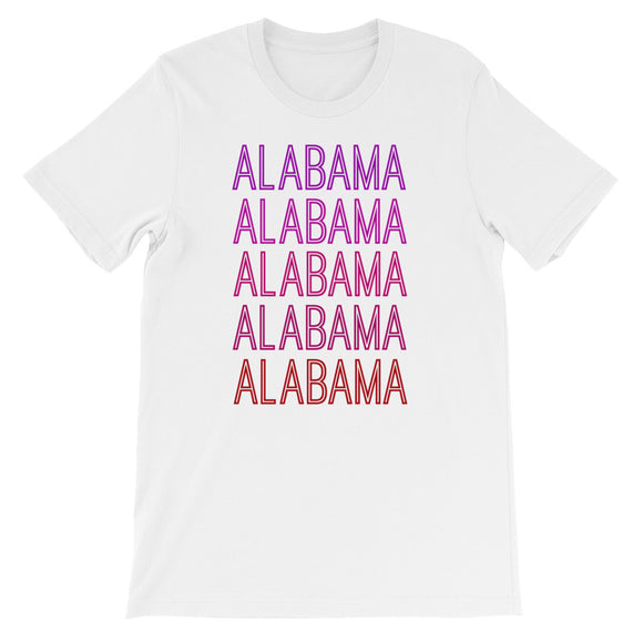 Alabama Pink Ombre - The Well Dressed Southern Mess