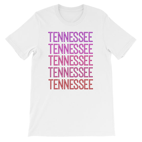 Tennessee Pink Ombre - The Well Dressed Southern Mess