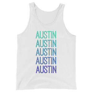 Austin Blue Ombre Tank - The Well Dressed Southern Mess