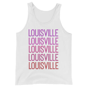 Louisville Pink Ombre Tank - The Well Dressed Southern Mess