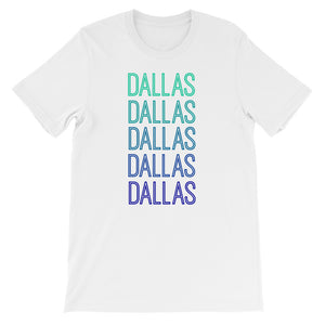Dallas Blue Ombre - The Well Dressed Southern Mess