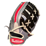 "14"" Bullhide Pro Glove Thin Red Line Edition TRL - Bullhideusa"