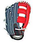 15 inch Slowpitch Softball Glove USA14 - Bullhideusa