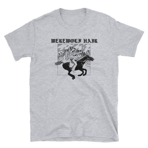 Werewolf Hair Tshirt (Black and Grey)