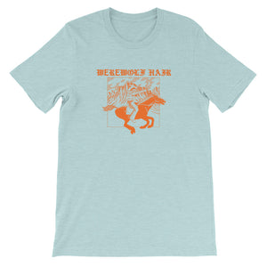 Werewolf Hair tshirt (blue)