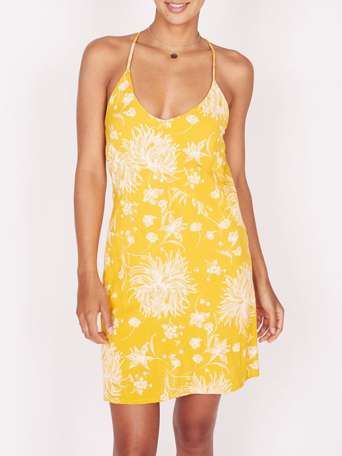 Anette Honey Slip Dress