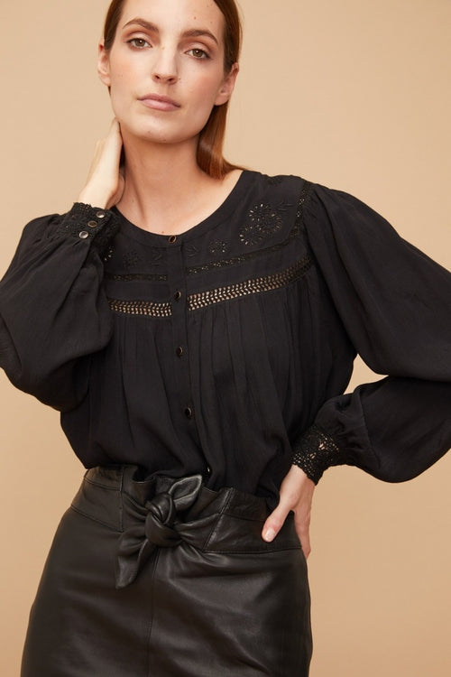 Ophelie Button Blouse