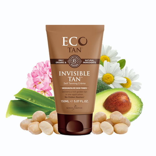 Eco By Sonya Eco Tan Invisible Tan Med/Olive