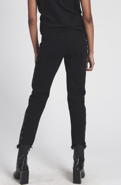 Black Oak Legend high Waist Mom Jean.