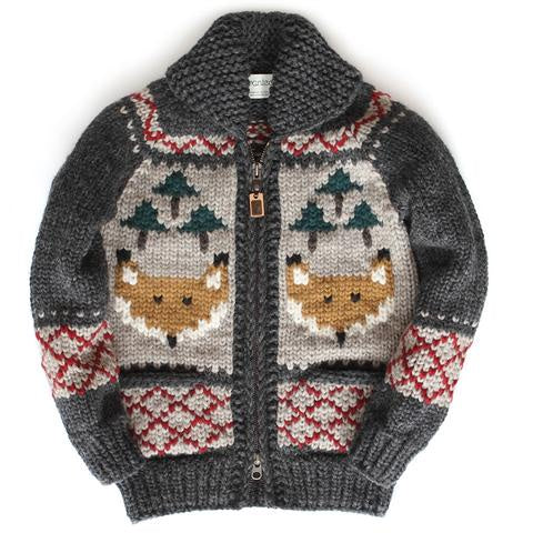 Granted Foxy Forest Sweater