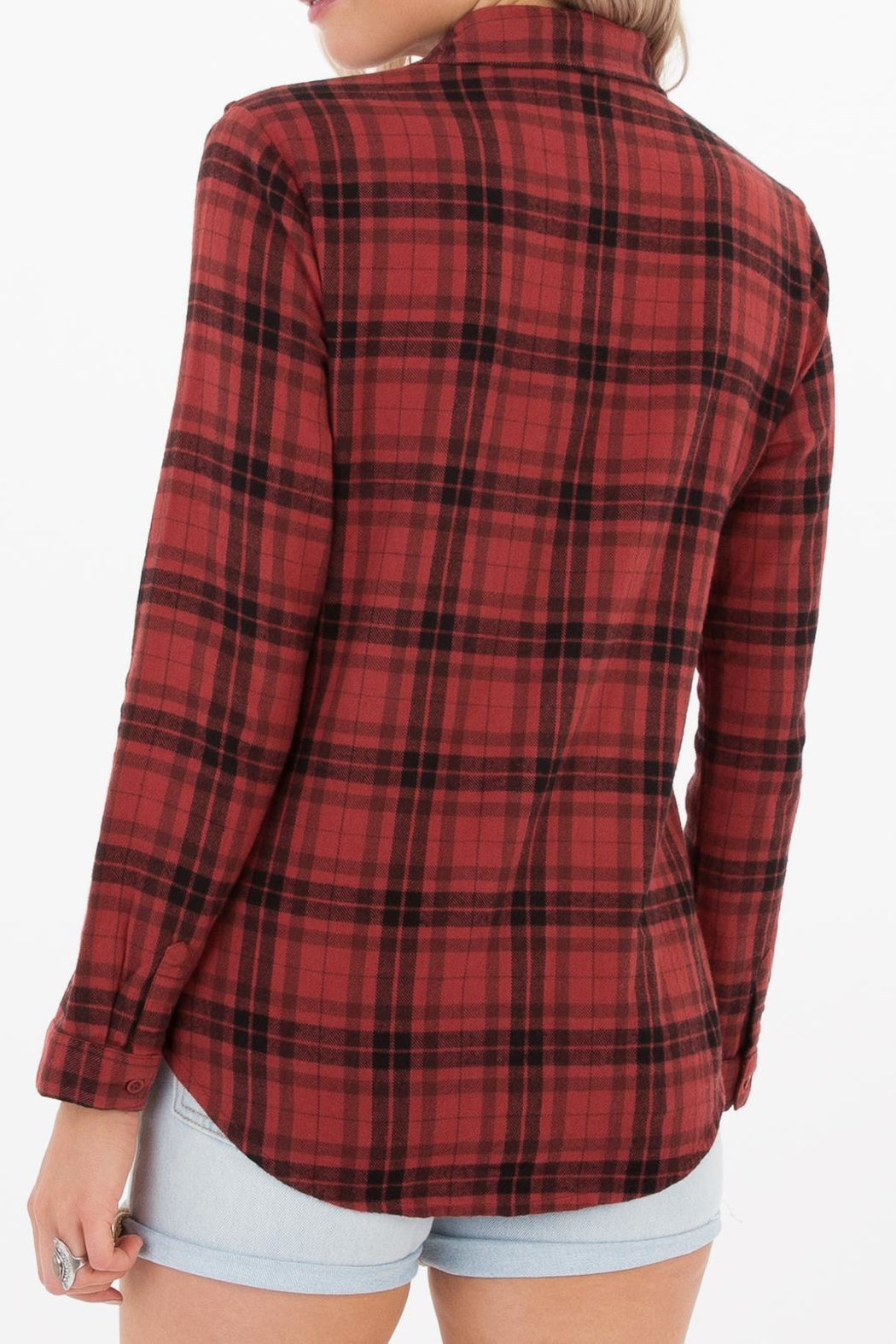 White Crow Carmen Plaid Shirt