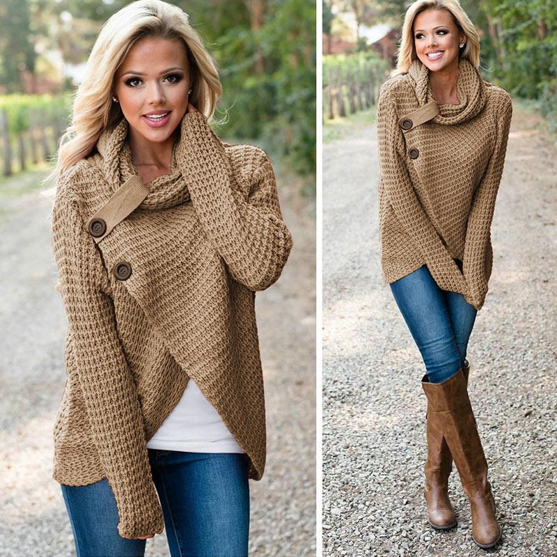Frauen Winter Sweater
