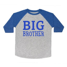 Load image into Gallery viewer, Big Brother L/S Shirt - Heather/Royal