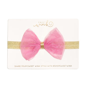 Bubblegum Bow Soft Headband