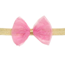 Load image into Gallery viewer, Bubblegum Bow Soft Headband
