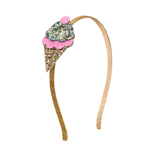 Ice Cream Hard Headband