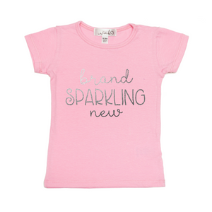 Brand Sparkling New S/S Shirt - Pink