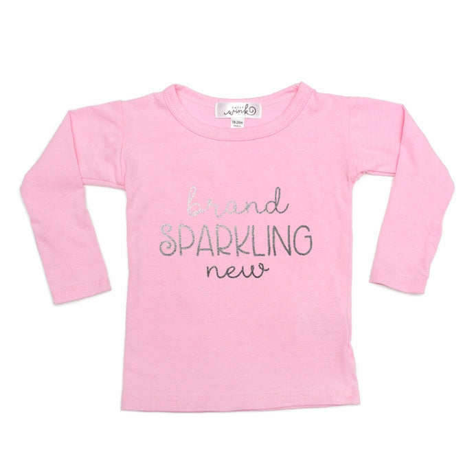 Brand Sparkling New L/S Shirt - Pink