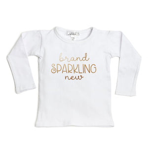 Brand Sparkling New L/S Shirt - White