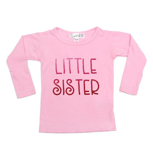 Little Sister L/S Shirt - Pink