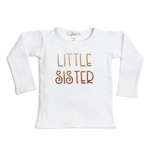 Little Sister L/S Shirt - White