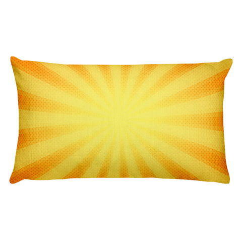 "Rectangular Sunshine Pillow 20"" x 12"""