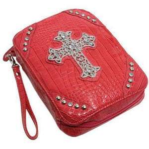 Exotic Textured Cross Bible Cover - TRUTH Christian Boutique