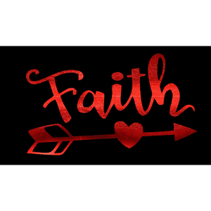 """Faith"" Arrow Christian Tee - TRUTH Christian Boutique"