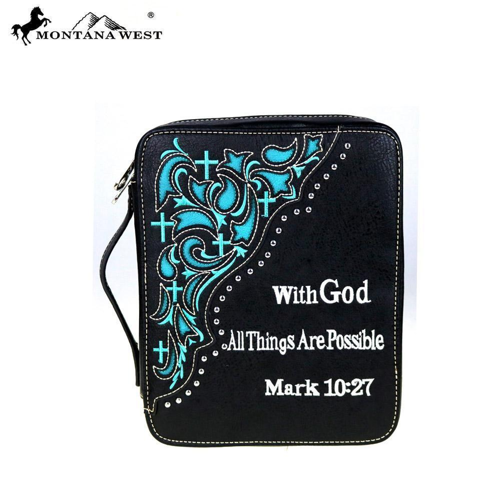 """With God All Things Are  Possible"" Bible Cover - TRUTH Christian Boutique"