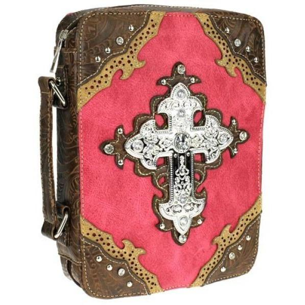 Cross Western Bible Cover - TRUTH Christian Boutique