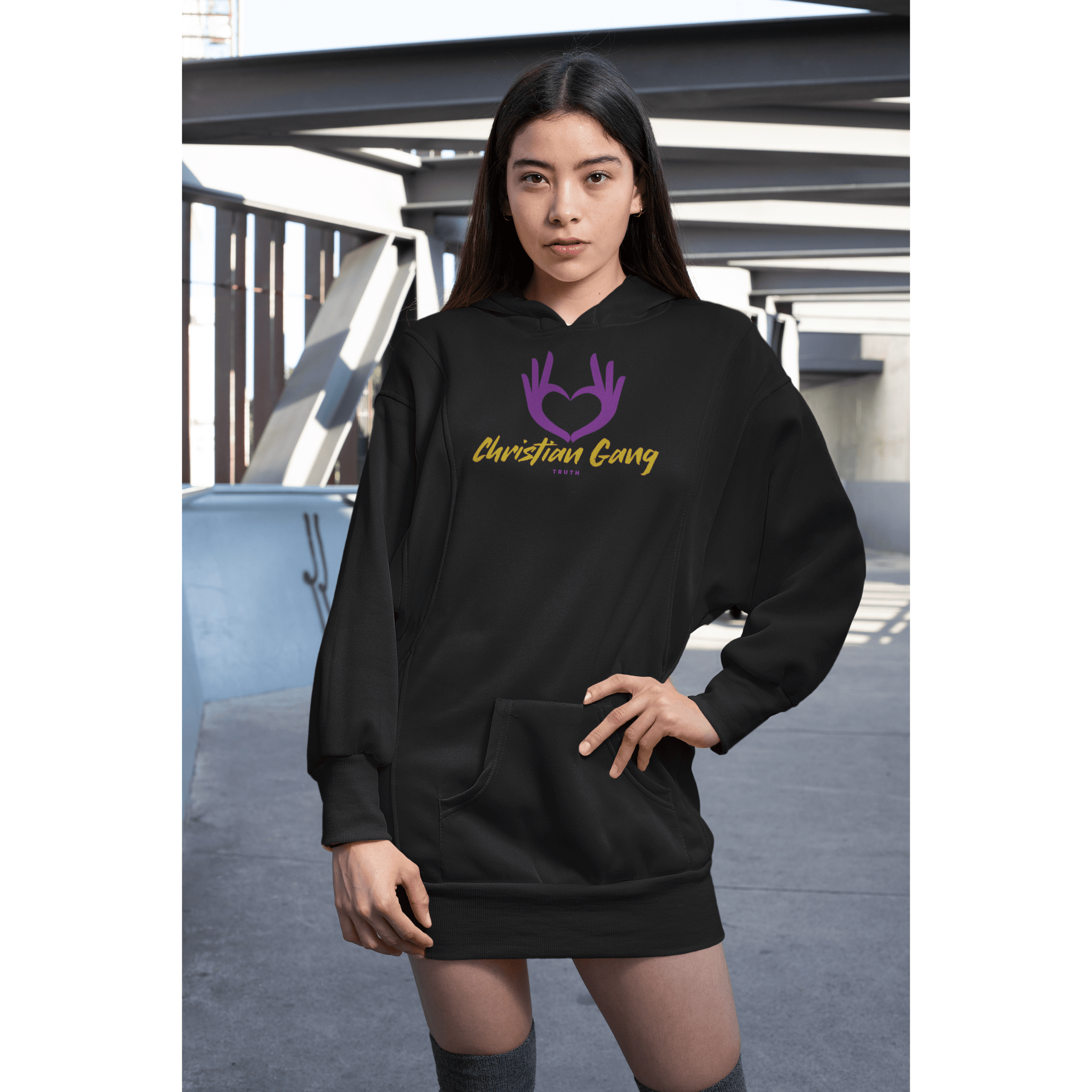 """Christian Gang"" Pullover Hoodie - TRUTH Christian Boutique"