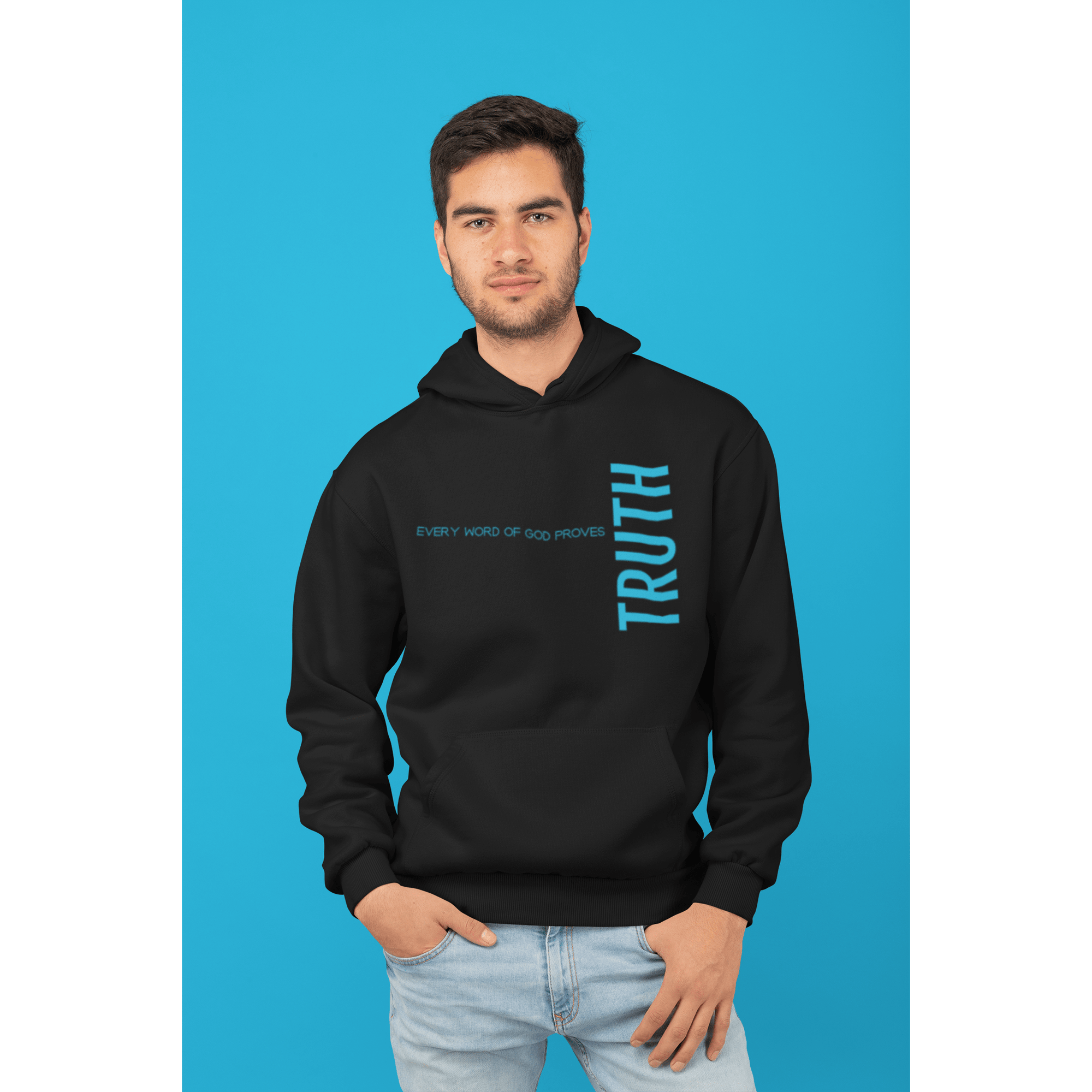 """Every Word Of God, Truth"" Hoodie - TRUTH Christian Boutique"