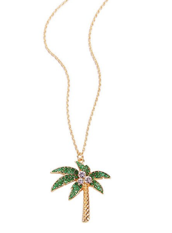 Collier Tropical à Strass