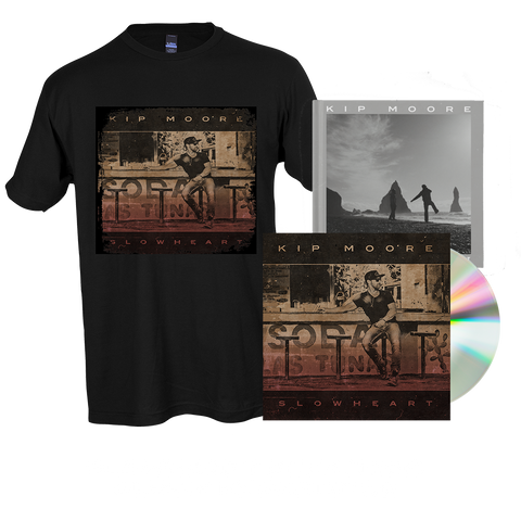 SLOWHEART - CD + T-Shirt + Signed Photo Book + Enhanced Album Experience