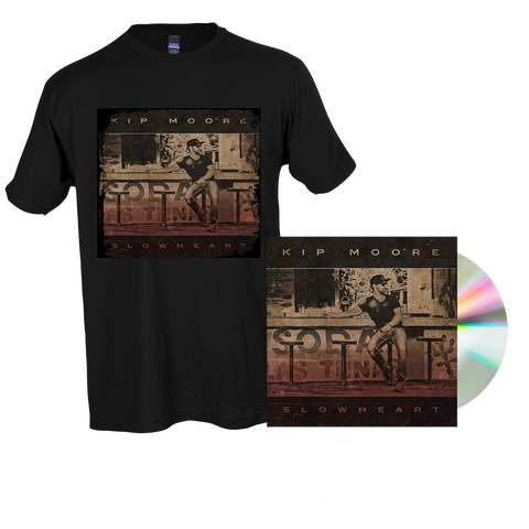 SLOWHEART - CD + T-Shirt + Enhanced Album Experience