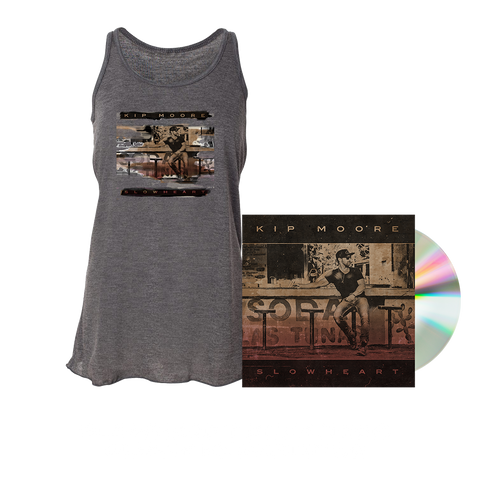 SLOWHEART - CD + Tank Top + Enhanced Album Experience