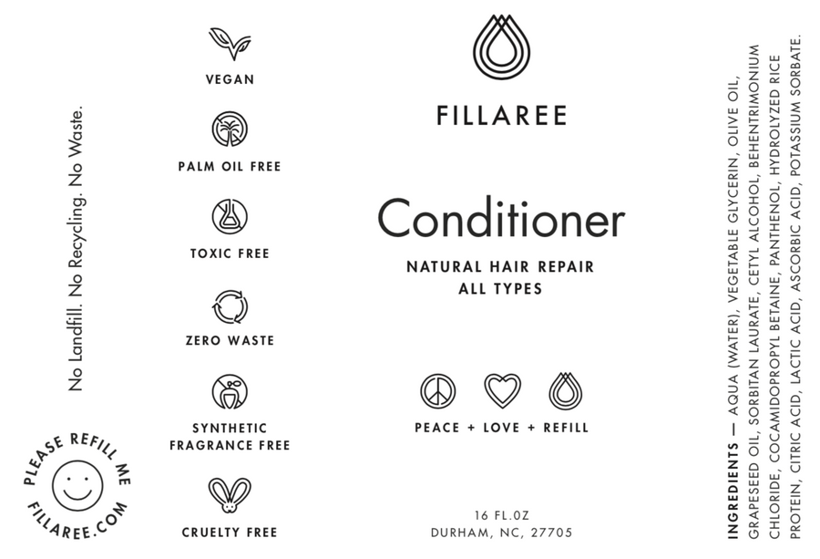 Fillaree Conditioner - Natural Hair Repair