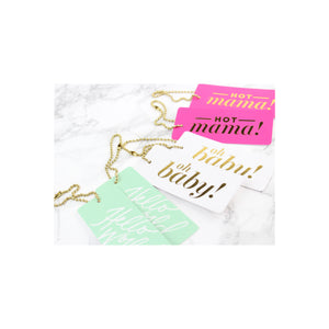 LUXE GIFT OR WINE TAG