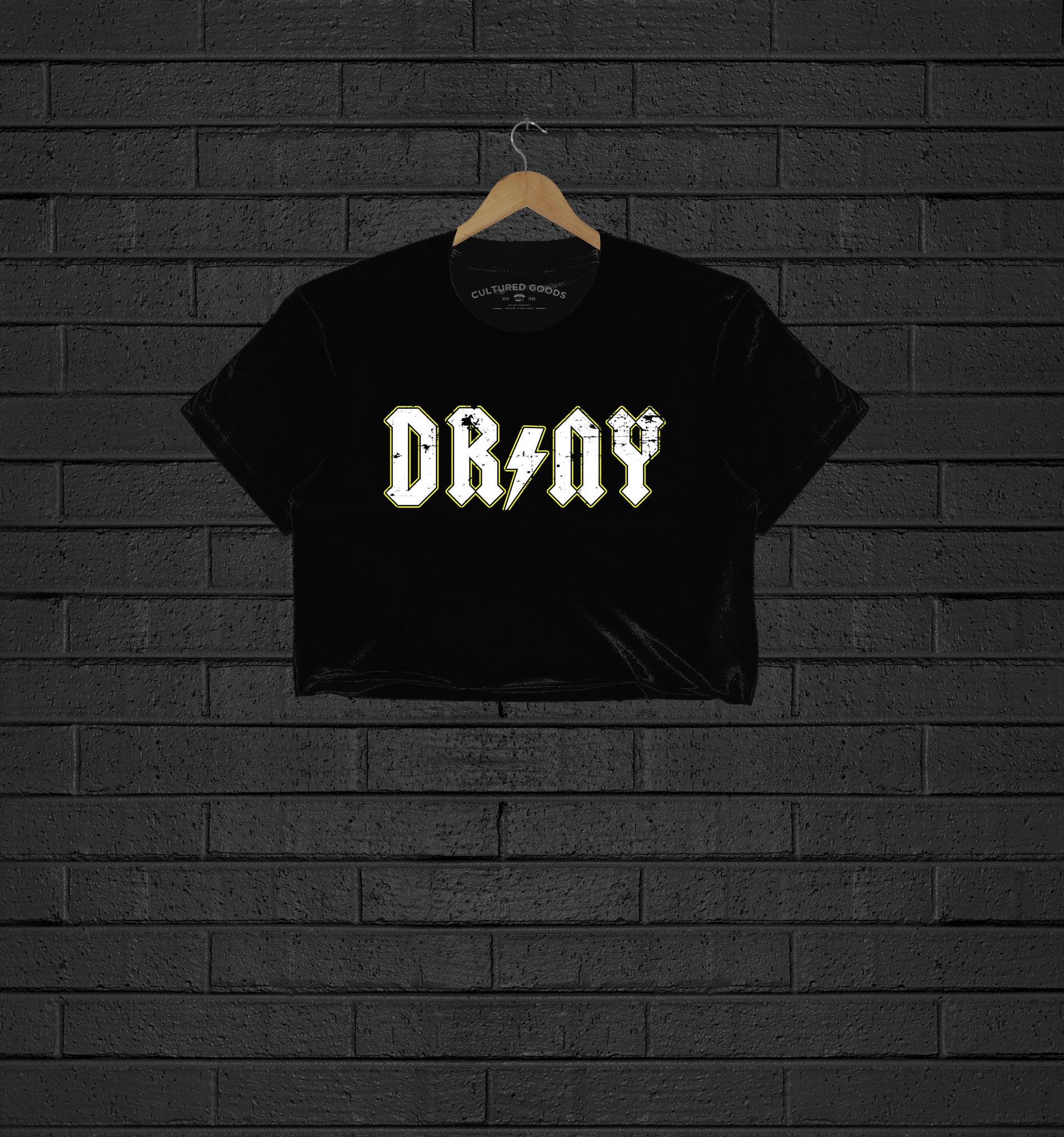 DR NY Women Crop Top