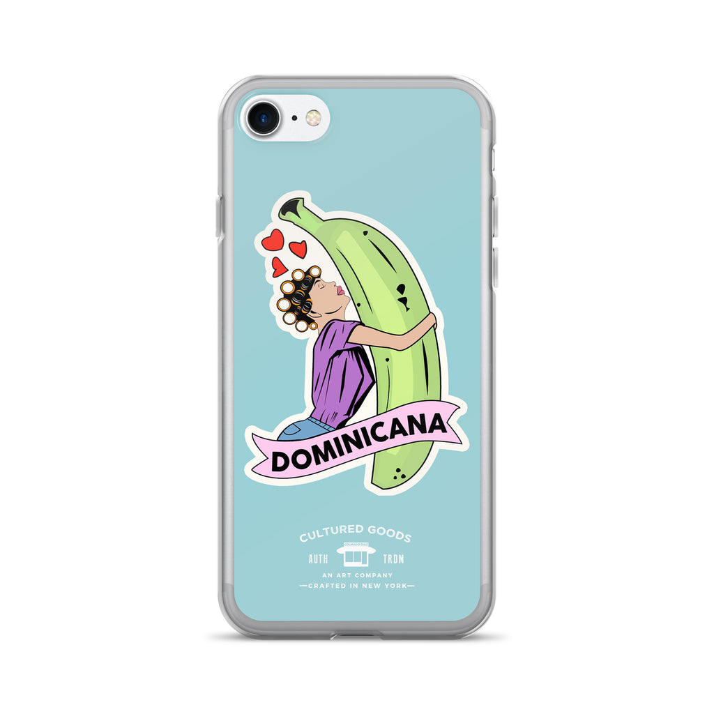 Platano Love iPhone Case