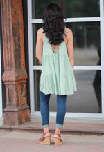 Loose fit sleeveless dress/tunic